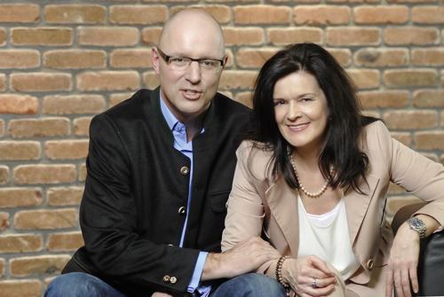 Klaus Böswirth und Irmgard Hiereth von KB Wohnbau